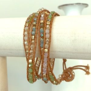 Pop of Posh wrap bracelet